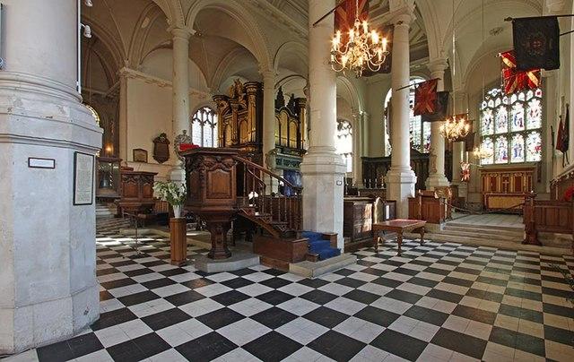 St Sepulchre without Newgate, Holborn Viaduct, London EC1 - South chapel