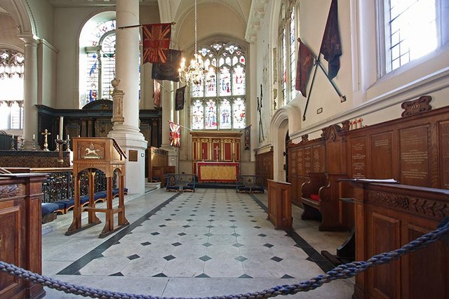 St Sepulchre without Newgate, Holborn Viaduct, London EC1 - South chapel