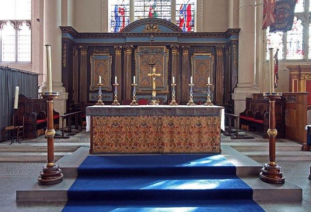 St Sepulchre without Newgate, Holborn Viaduct, London EC1 - Sanctuary