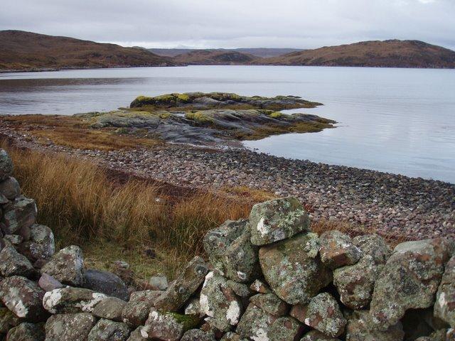 Loch Thùrnaig beach
