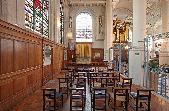 St Sepulchre without Newgate, Holborn Viaduct, London EC1 - North Chapel