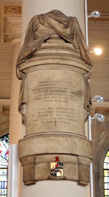 St Sepulchre without Newgate, Holborn Viaduct, London EC1 - Monument