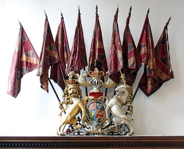 St Sepulchre without Newgate, Holborn Viaduct, London EC1 - Royal Arms