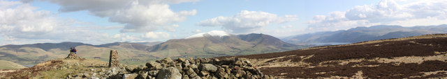 View from Binsey towards Skiddaw