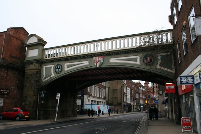 Bridge by Foregate Station