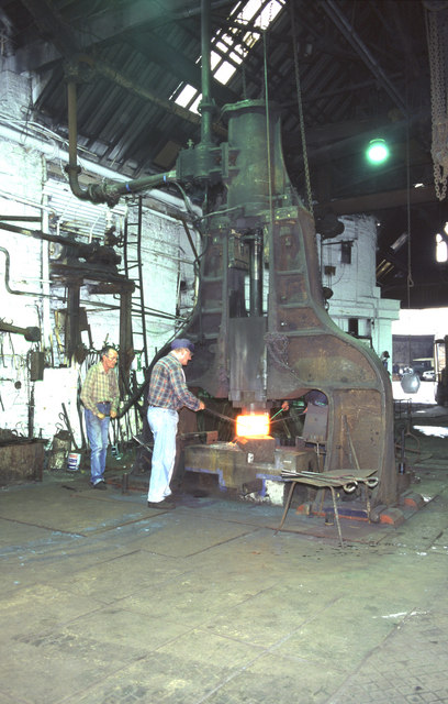 Wilfred Burkinshaw, Bath Steel Works