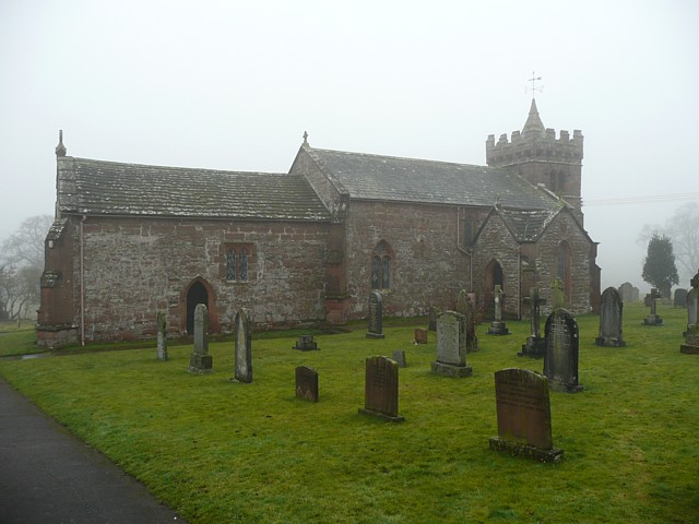St Cuthbert's Church, north side, Edenhall