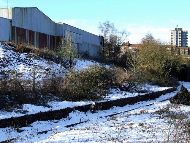 Former Lynedoch railway station