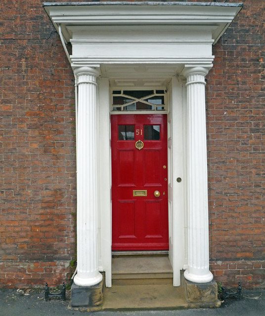 Georgian Doorway, 51 Whitecross Street