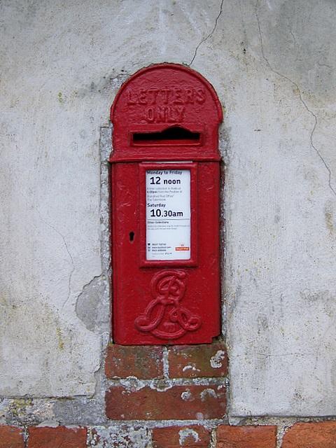 Edward VII postbox, Minchington