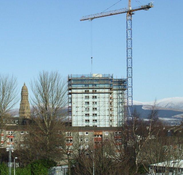 High rise demolition
