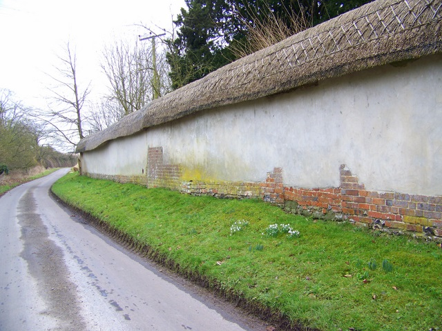 Thatched wall, Minchington