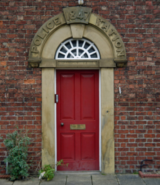 Doorway - The Old Police Station