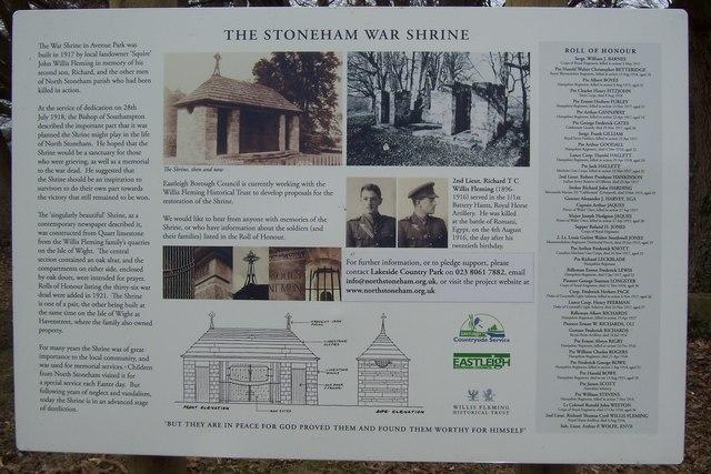 The Stoneham War Shrine