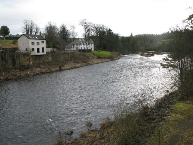 River Clyde at Garrion Bridge