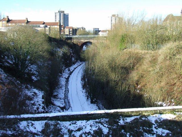 Former Princes Pier railway line