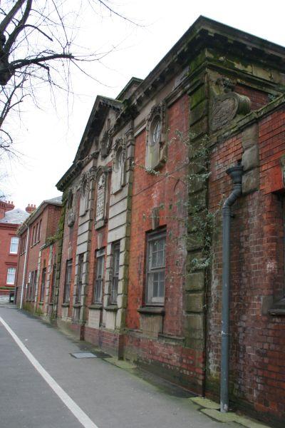Old building along Castle Street
