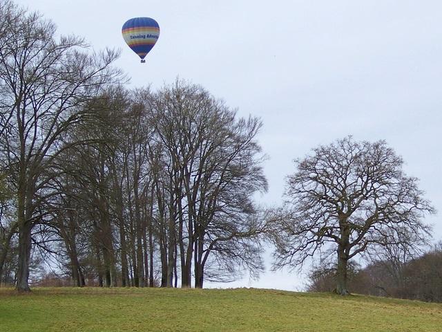 Balloon over Rushmoor Park