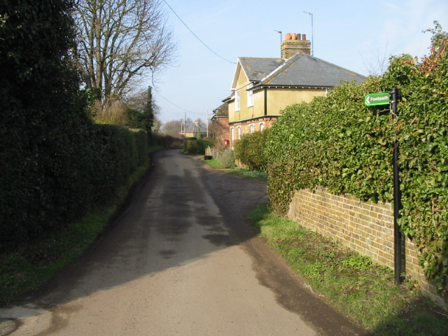 Road from Lower Goldstone