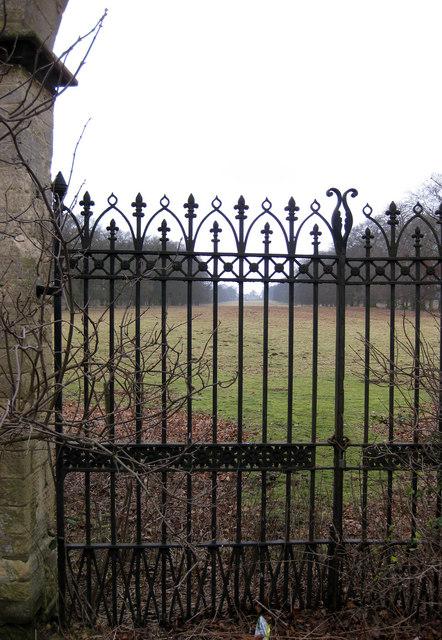 Ermine Lodge gates