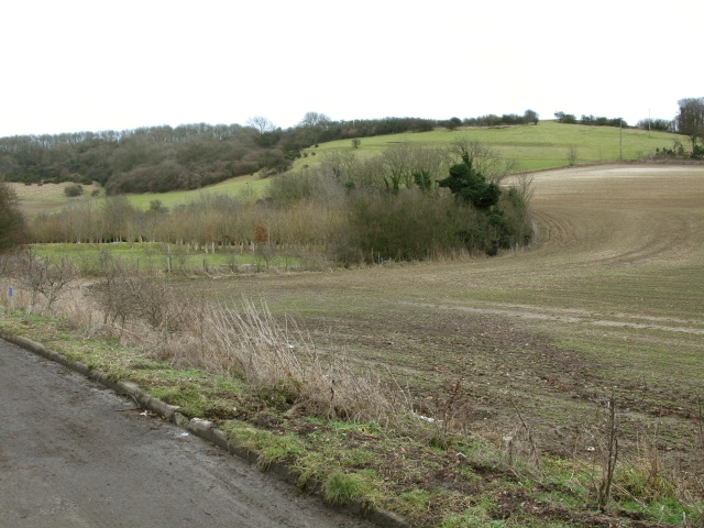 View from the Alkham Valley Road