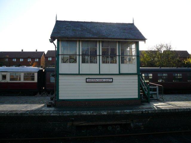 Sheringham Railway Station Signal Box