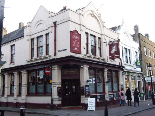 Charlotte's, corner of Almon Place and High Street, Rochester