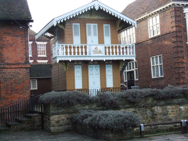 Charles Dickens' Swiss Chalet, Rochester