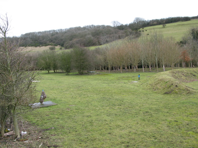The Alkham Valley near Lower Standen
