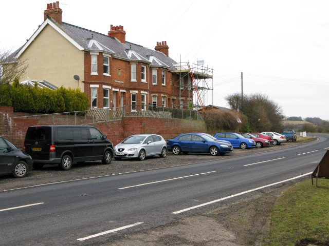Standen Terrace on the Alkham Valley Road