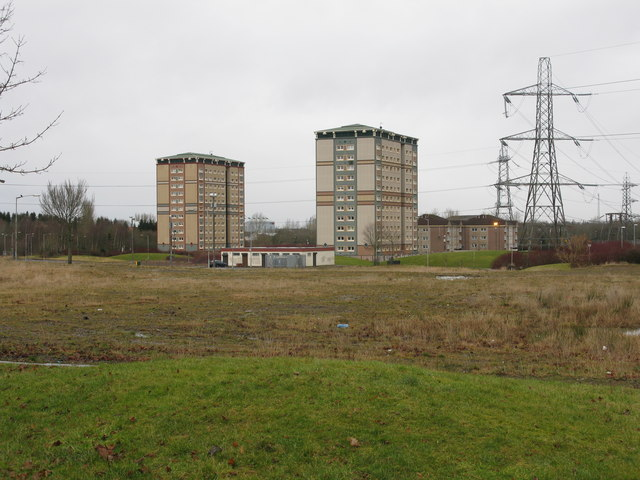 Gowkthrapple Tower Blocks