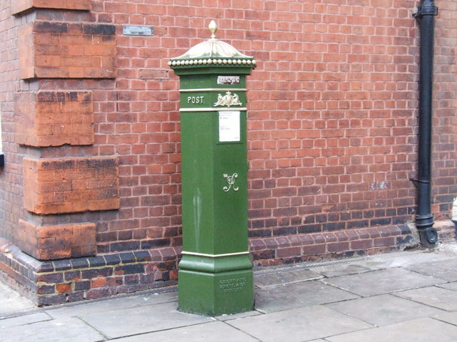 Victorian post box, Rochester