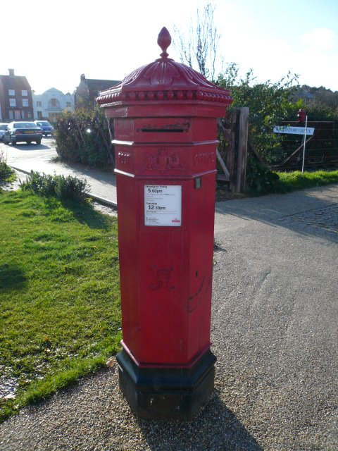 Royal mail Postbox, Sheringham