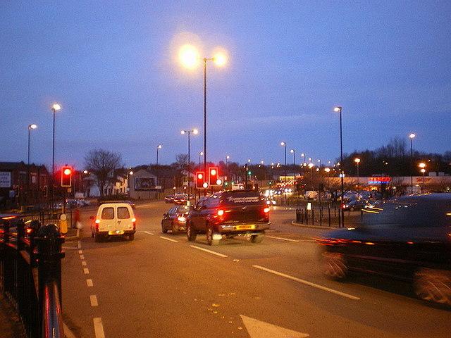 Road junction at Sudden