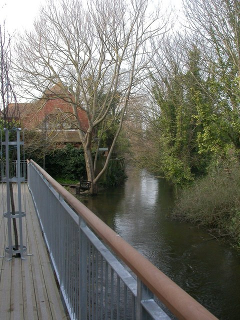 Christchurch, mill stream