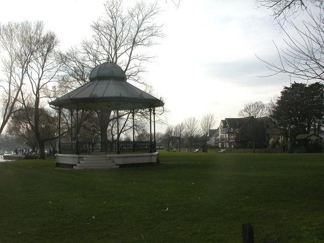 Christchurch, bandstand