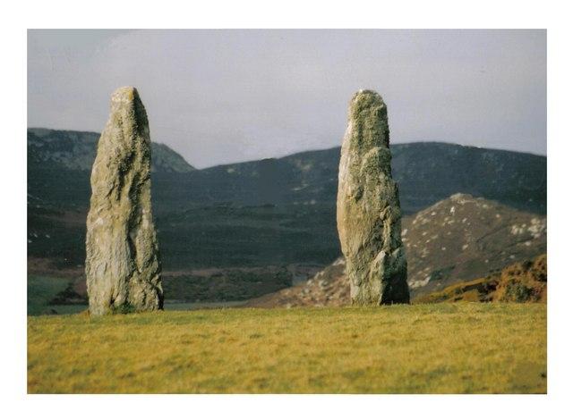 Penrhosfeilw Standing Stones.