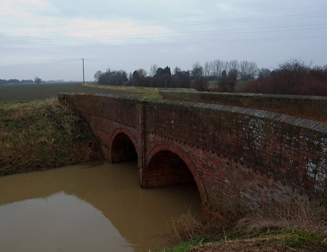Fairholme Double Bridge near Swine