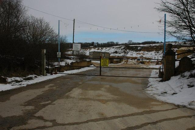 Entrance Quarry, near Stumps Cross