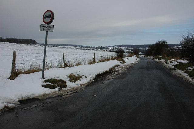 Road to Cutsdean