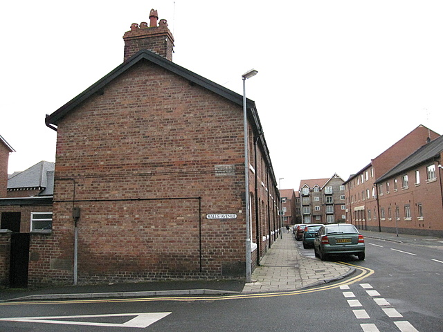 Corner of Walls Avenue and Tower Road