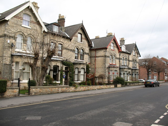 Houses on Heslington Road