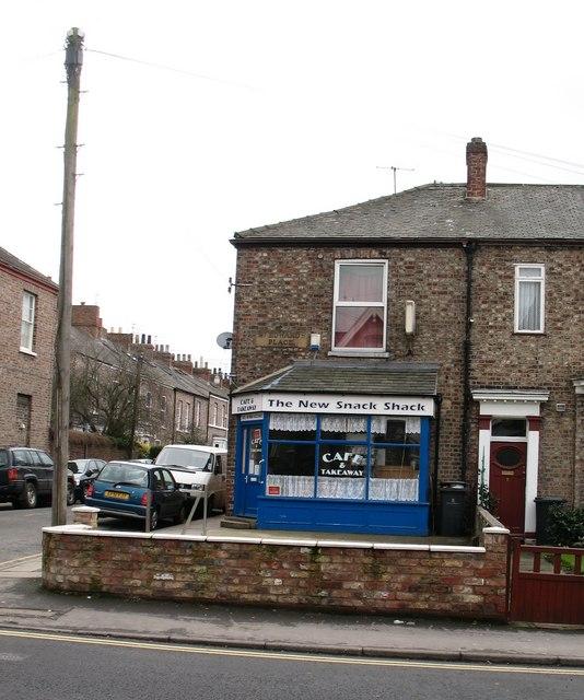 Cafe on Heslington Road