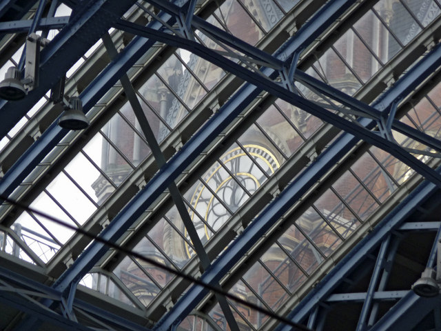 Roof, St Pancras Station, London