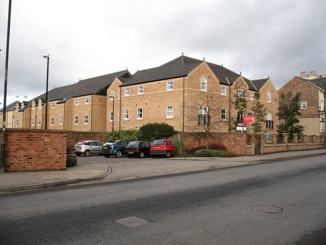 Apartment blocks, Lawrence Street