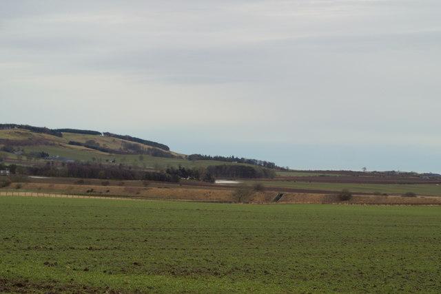 View of Railway Embankment. (Railway Dismantled)