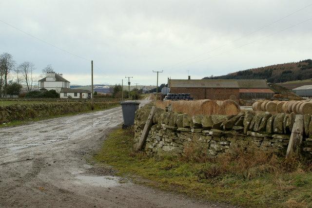 View of Little Lour Farm