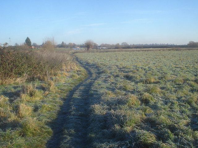 Riverside path south of Woodmancote