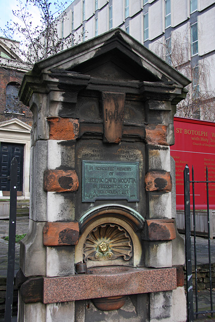 Drinking Fountain by St. Botolph