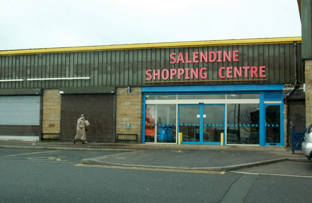 Salendine Shopping centre